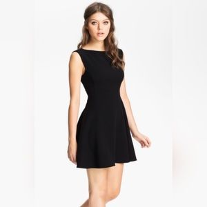 French Connection Ponte Fit & Flare Dress